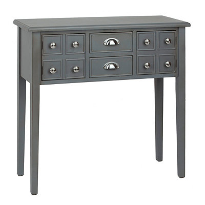 Marshall Soft Gray Console Table