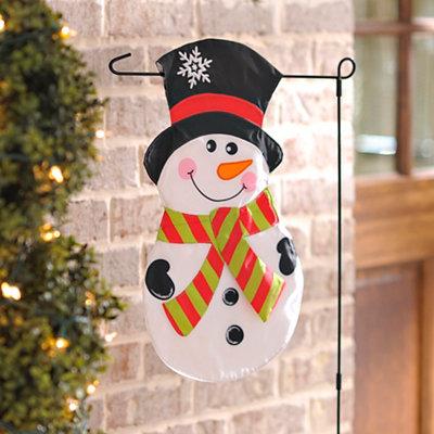 Jolly Snowman Flag Set