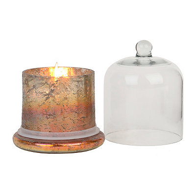 Amber Cloche Scented Candle