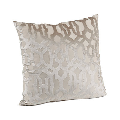 Tan Damon Scroll Pillow