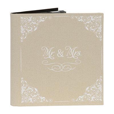 Mr. & Mrs. Linen Photo Album