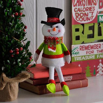2015 Plush Boy Snowman