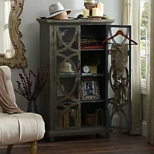 Distressed Aspen Wooden Cabinet