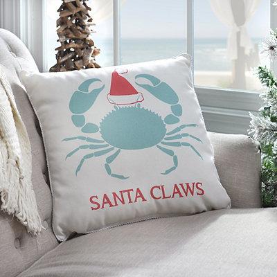 Santa Claws Pillow