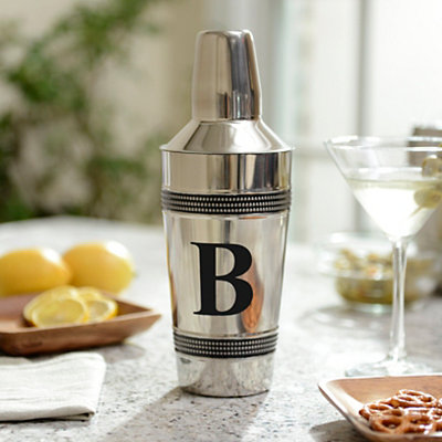 Monogram B Cocktail Shaker