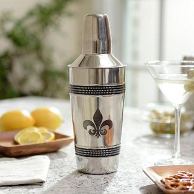 Fleur-de-lis Cocktail Shaker