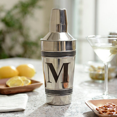 Monogram M Cocktail Shaker