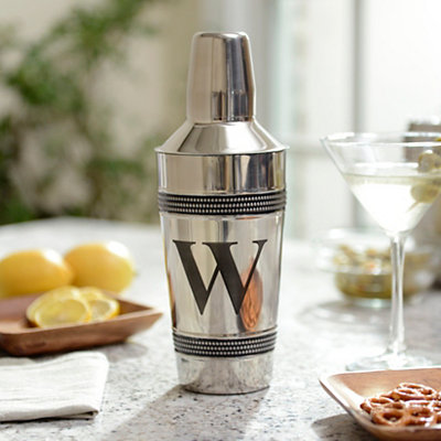 Monogram W Cocktail Shaker