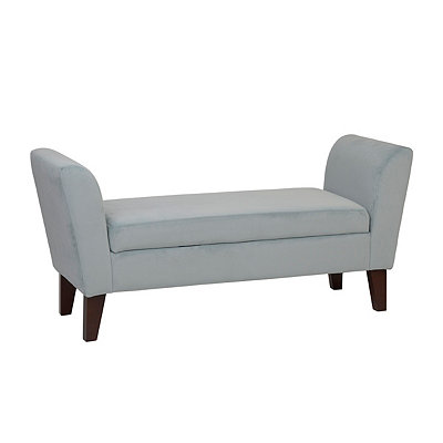 Bella Skylight Upholstered Storage Bench