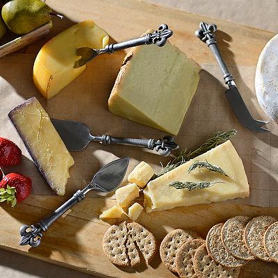 Global Market Fleur-de-lis 4-pc. Cheese Server Set