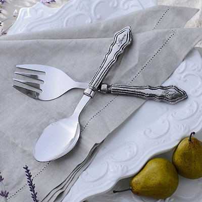 Global Market Fork & Spoon 2-pc. Serving Set