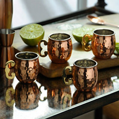 Moscow Mule Shot Glasses, Set of 4