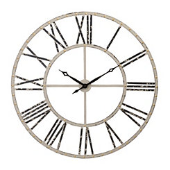 Addison Cream Open Face Clock, 45 in.