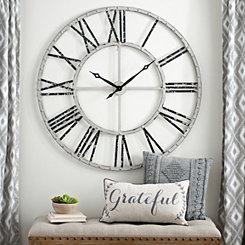 Addison Cream Open Face Clock, 45 in.