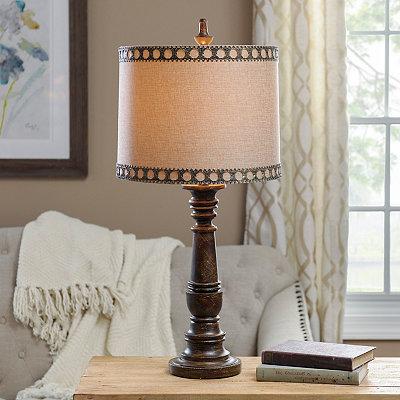 Metal Filigree Table Lamp