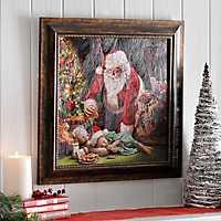 Cookies for Santa Framed Art Print