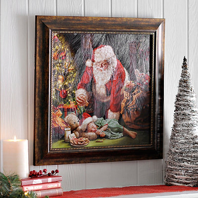 Cookies for Santa Framed Art Print