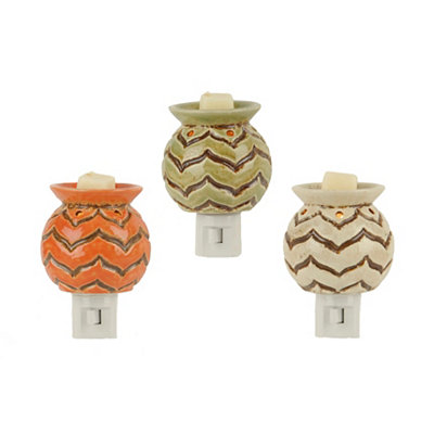 Ceramic Chevron Tart Burners