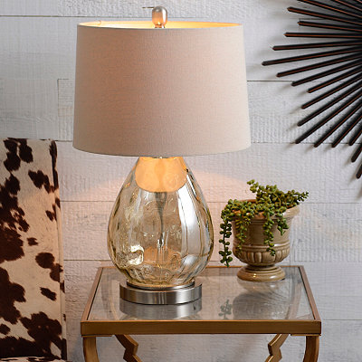 Mocha Luster Glass Table Lamp
