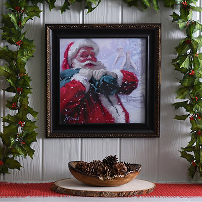 Jolly Delivery Framed Art Print