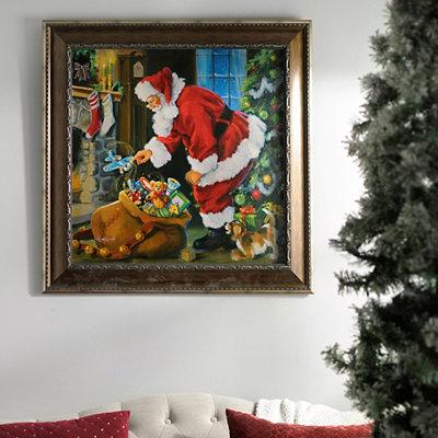 Christmas Magic Framed Art Print