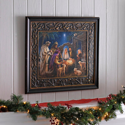 The Nativity Story Framed Art Print