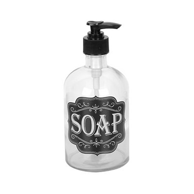 Chalkboard Art Soap Pump