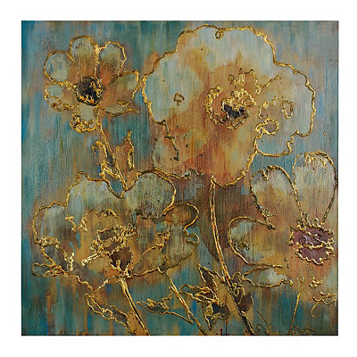Enchanting Blooms Canvas Art Print