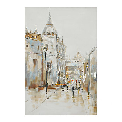 Evening at the Basilica Canvas Art