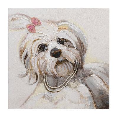 Lucy the Shih Tzu Canvas Art Print