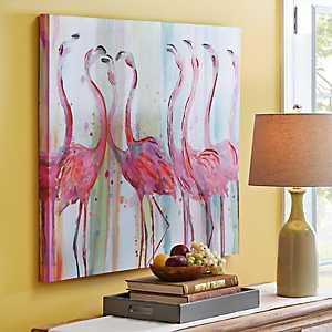 Gossip Party Canvas Art Print