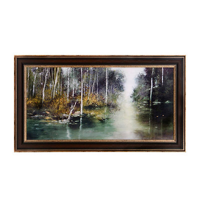 Nature's Solitude Framed Art Print