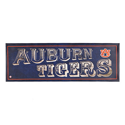 Auburn Tigers Pub Sign Canvas Plaque