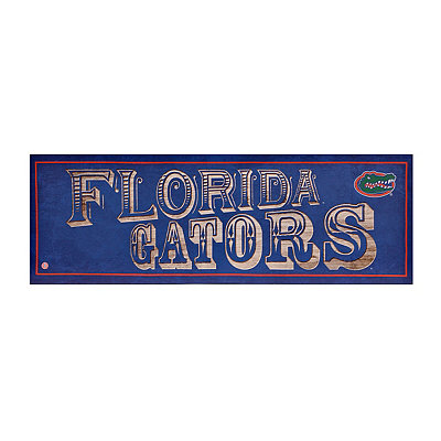 Florida Gators Pub Sign Canvas Plaque