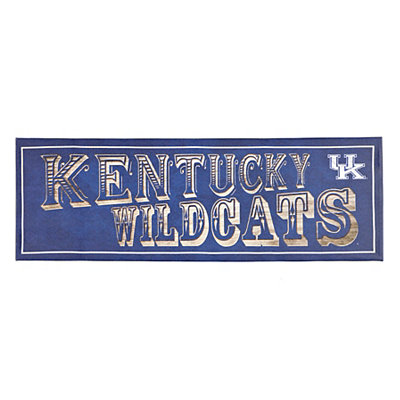 Kentucky Wildcats Pub Sign Canvas Plaque