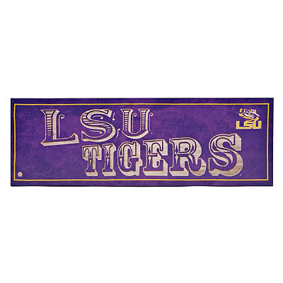 LSU Pub Sign Canvas Plaque