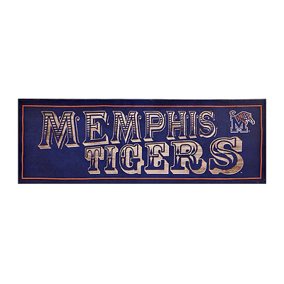 Memphis Tigers Pub Sign Canvas Plaque