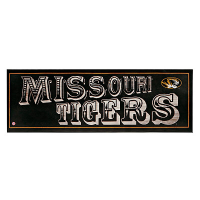 Missouri Tigers Pub Sign Canvas Plaque