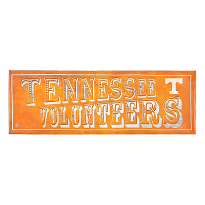 Tennessee Volunteers Pub Sign Canvas Plaque