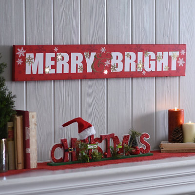 Merry and Bright LED Sign