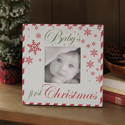 Baby's First Christmas Picture Frame, 4x4