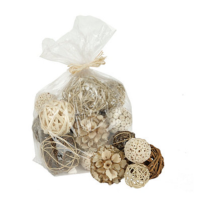 Natural Tan Dried Orb Set