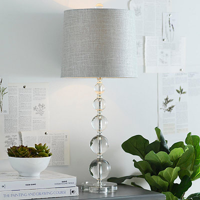 Crystal Orbs Table Lamp