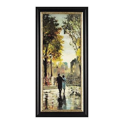 Boulevard Romance I Framed Art Print