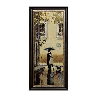 Boulevard Romance II Framed Art Print