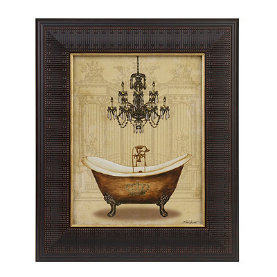 Crown Bathtub II Framed Art Print