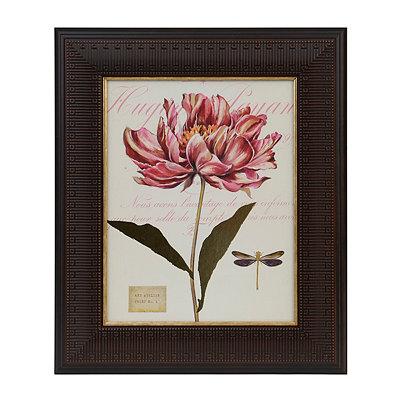 Botanical Atelier I Framed Art Print