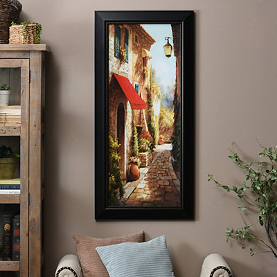 Cobbled Stroll II Framed Art Print