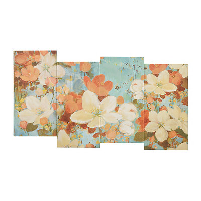 Floral Delight Canvas Art Print