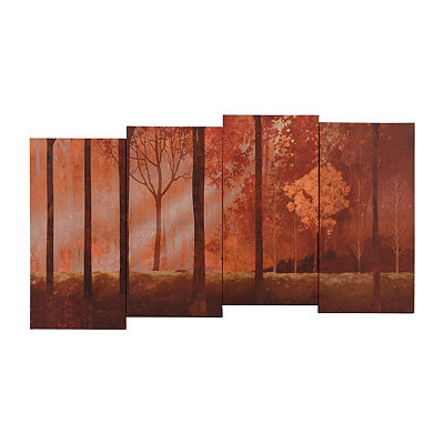 Streaming Trees Canvas Art Print
